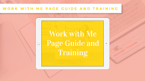 Sales-Page-Training